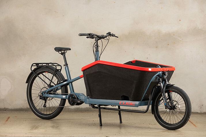 Für Transport-Freaks: Cargo E-Bikes