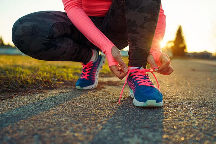 Das allerwichtigste für mehr Fitness ist, anzufangen