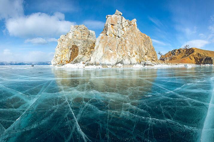 """Der """"Baikal Ice Marathon"""" in Russland"""