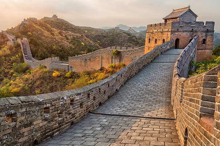 "Der ""Great Wall Marathon"" in China"