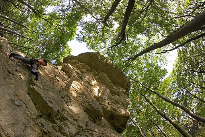 Klettern im Ith