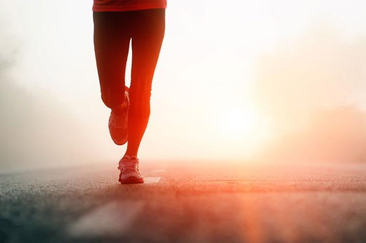 Laufen stabilisiert deine Muskeln und Knochen