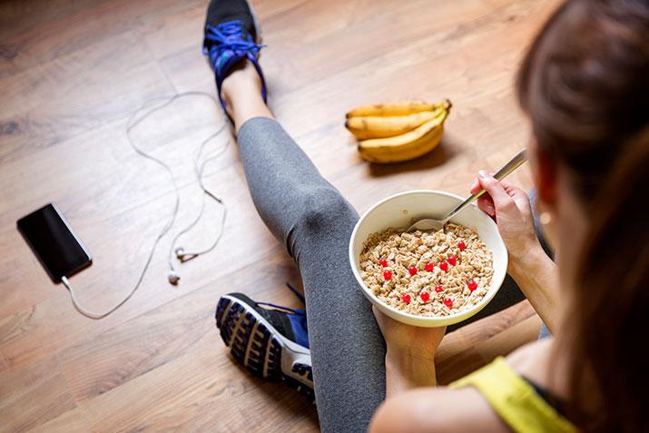 Laufen und die richtige Ernährung