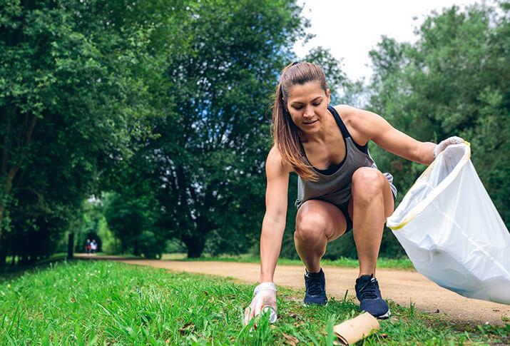 Das Paradebeispiel des nachhaltigen Sports: Plogging