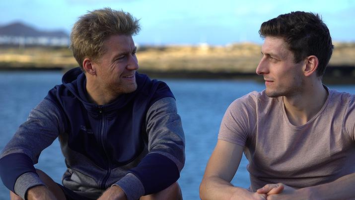 Nils Frommhold (links) und Florian Angert (rechts