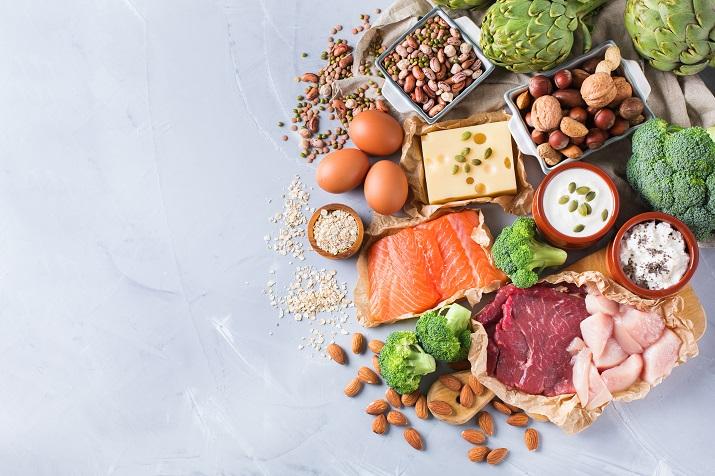 Proteine bauen deine Muskeln auf