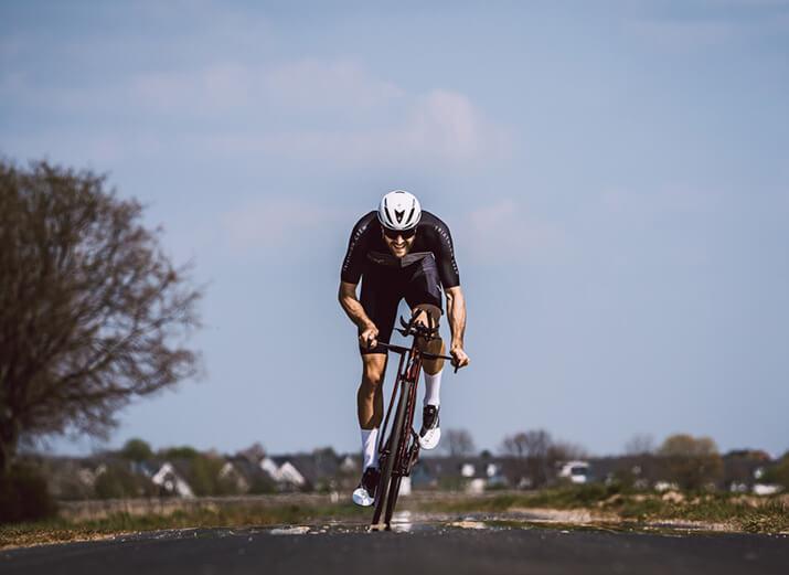 Du hast keine signifikanten Probleme während des Radfahrens, aber nach 2 Stunden reicht es dir trotzdem?