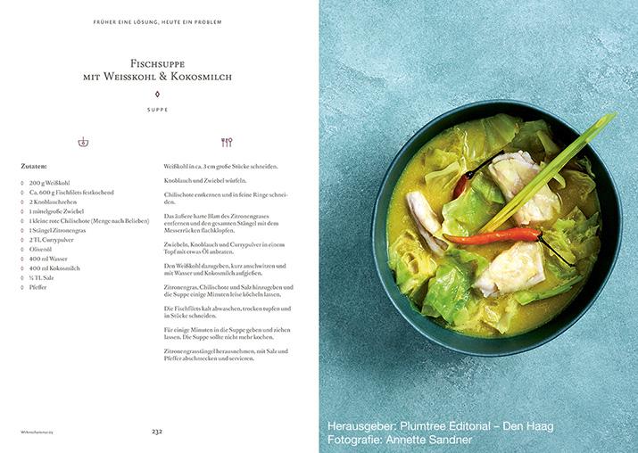 Rezepttipp: Fischsuppe mit Weißkohl und Kokosmilch