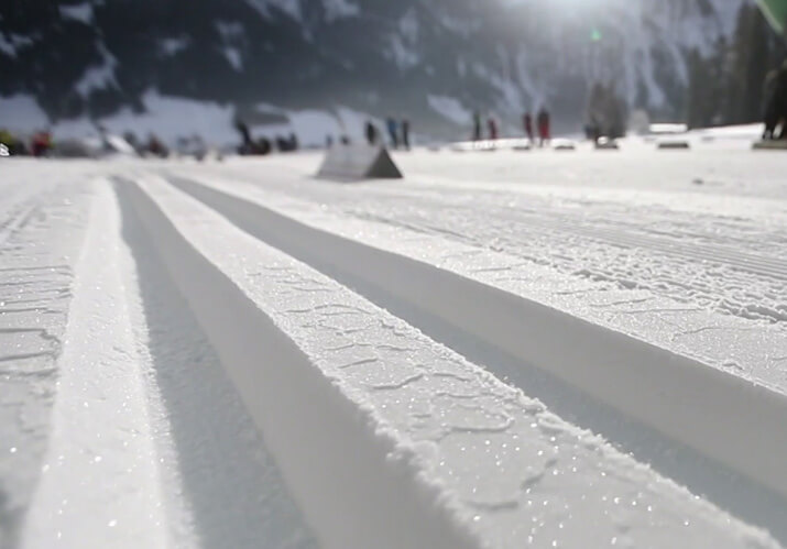 Skilanglauf Loipe