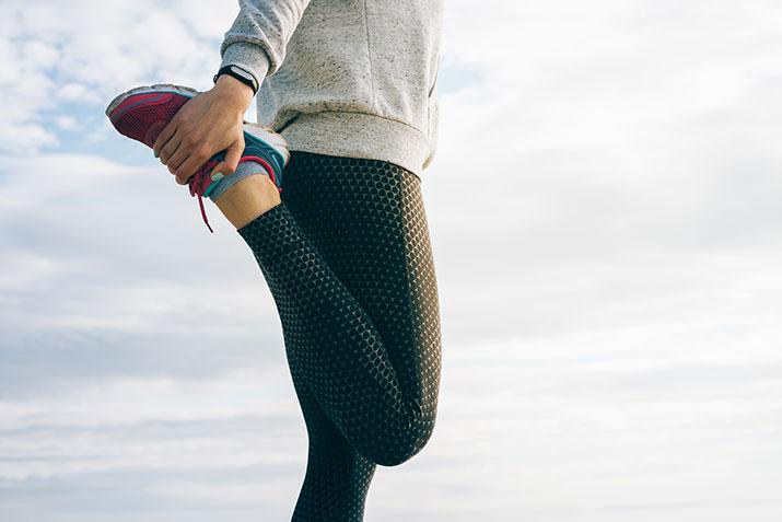 Anfersen für den Beinstrecker