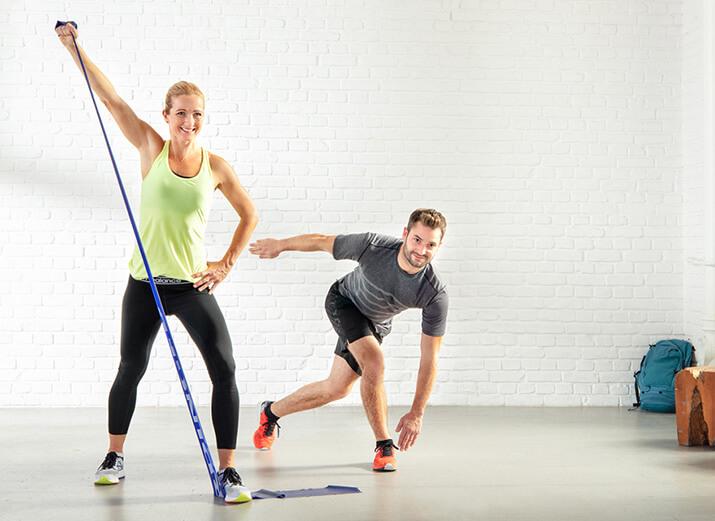 3. Dein Training intensivieren mit dem Fitnessband