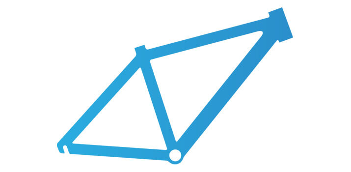 Der Fahrradrahmen: Material und Größe