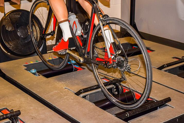 Die Freirolle für sehr erfahrene Radsportler