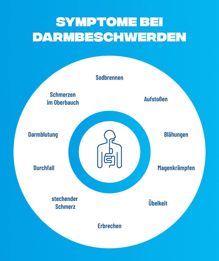 Infografik Darmgesundheit