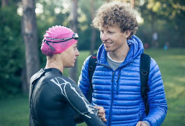 Laura Philipp mit Trainer und Ehemann Philipp Seipp