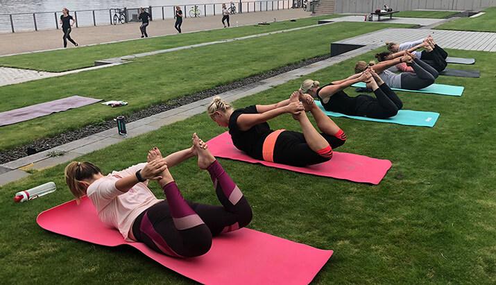 Anna Knöpfler, Yogalehrerin aus Bremen