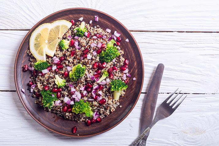 Quinoa-Granatapfelsalat von Patrick Lange