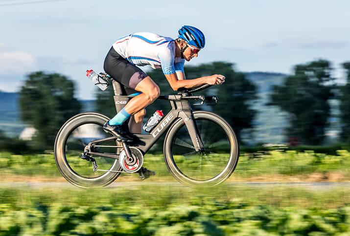 Radfahren in der richtigen Sitzposition