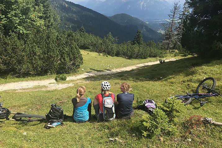 Auf dem Wank, einem Teil des Estergebirges bei Garmisch Partenkirchen