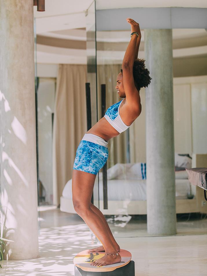 Für dein spielerisches Workout zu Hause: das Balance Board