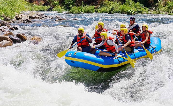 Rafting: Turbulente Wildwasserfahr