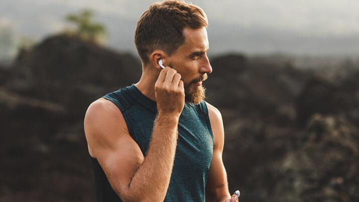 Mehr Drive für dein Training: kabellose In-Ear-Kopfhörer