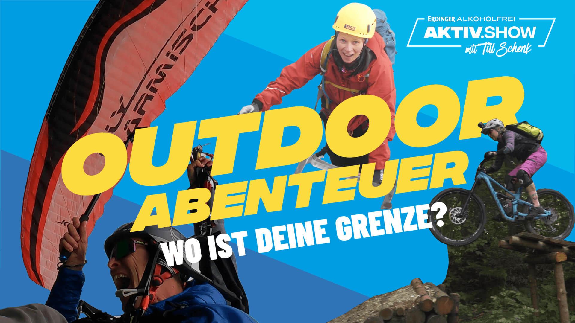 Biken, Klettersteigen & Paragliden - Adrenalin pur | Aktiv.Show mit Till Schenk
