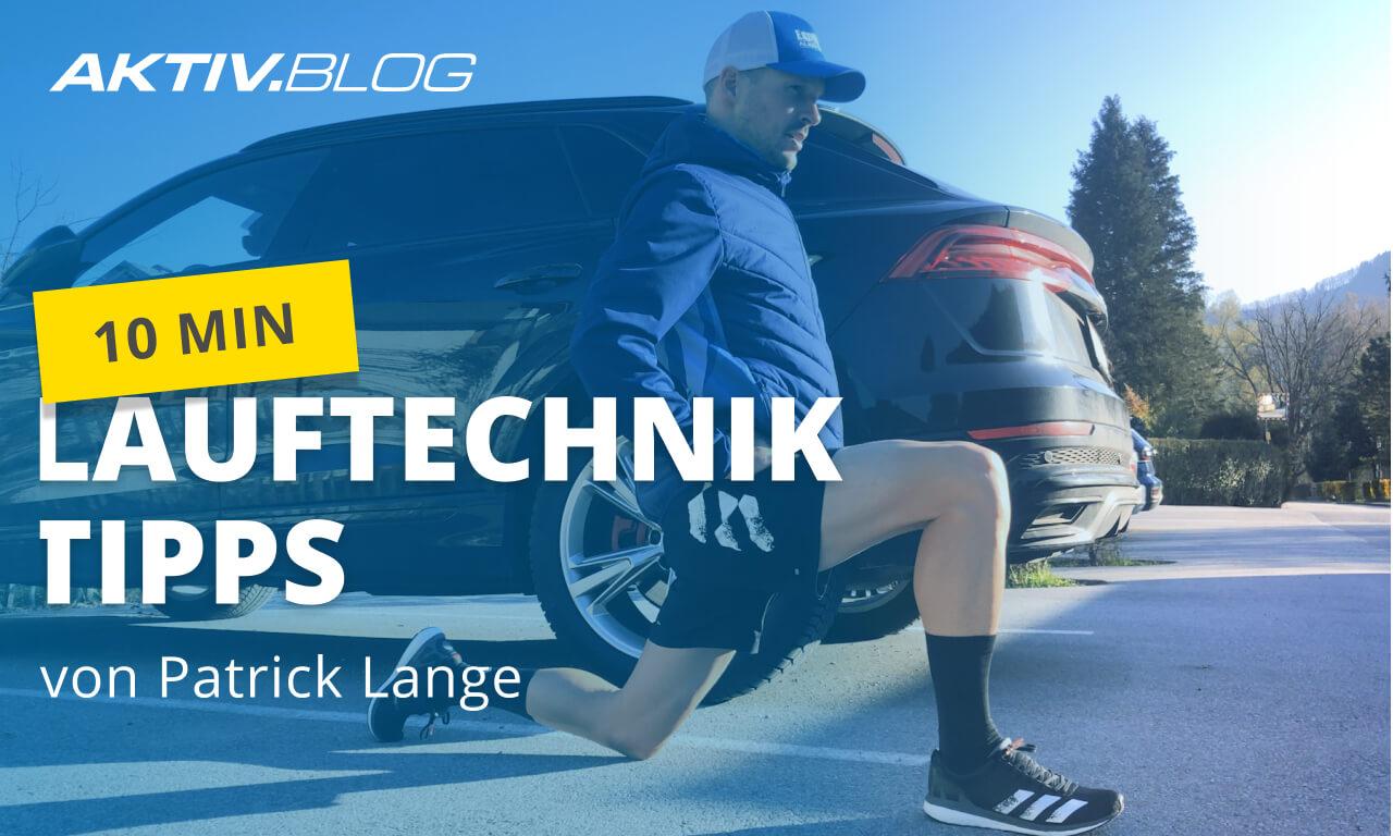 Lauftechnik trainieren mit IRONMAN-Sieger Patrick Lange | Training für Läufer | ERDINGER Alkoholfrei