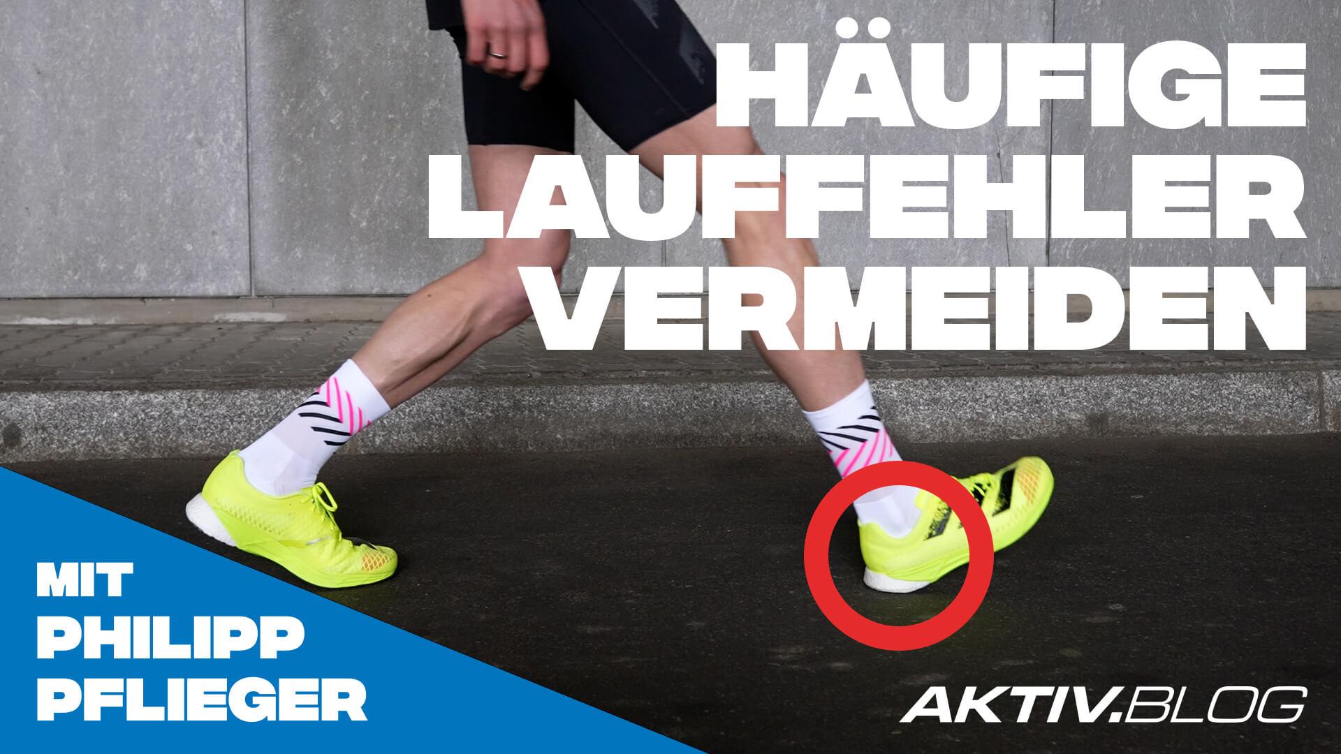 Typische Lauffehler – erklärt von Marathon-Profi Philipp Pflieger   Laufen mit ERDINGER Alkoholfrei
