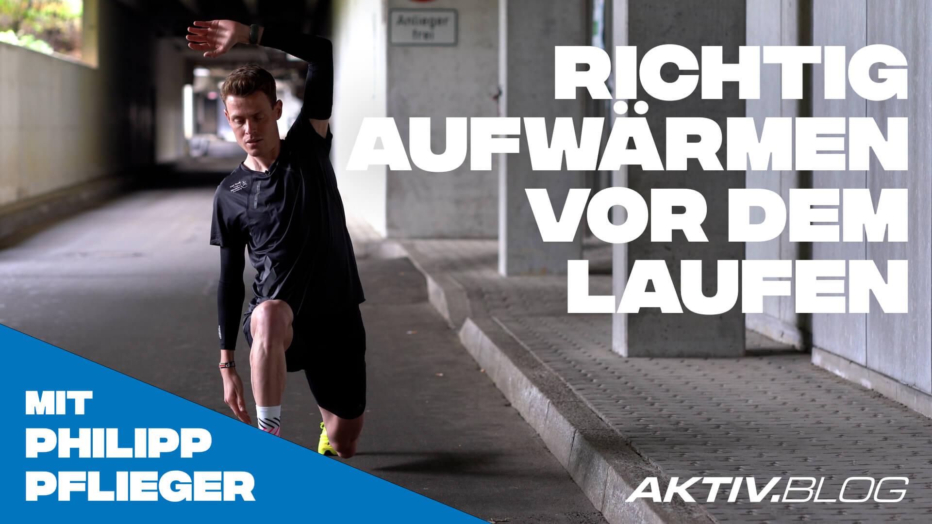Richtig aufwärmen vor dem Laufen – Tipps von Philipp Pflieger   Laufen mit ERDINGER Alkoholfrei