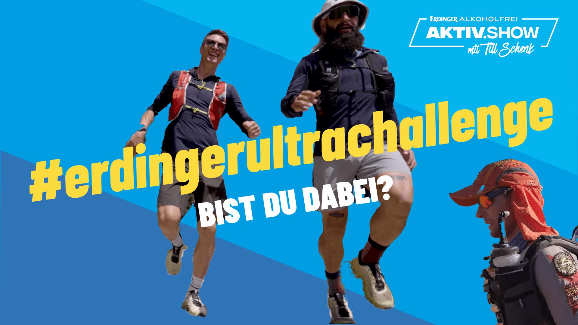 #erdingerultrachallenge, Extremläufer Sascha Gramm, Trailrunning, Freiwasserschwimmen | Aktiv.Show