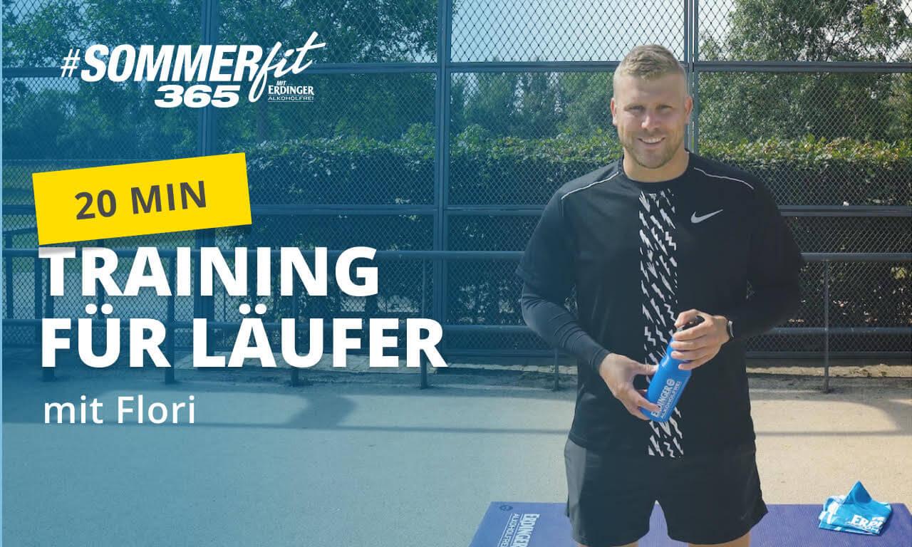 Training für Läufer | Bodyweight-Workout für Läufer | Sommerfit365 mit ERDINGER Alkoholfrei