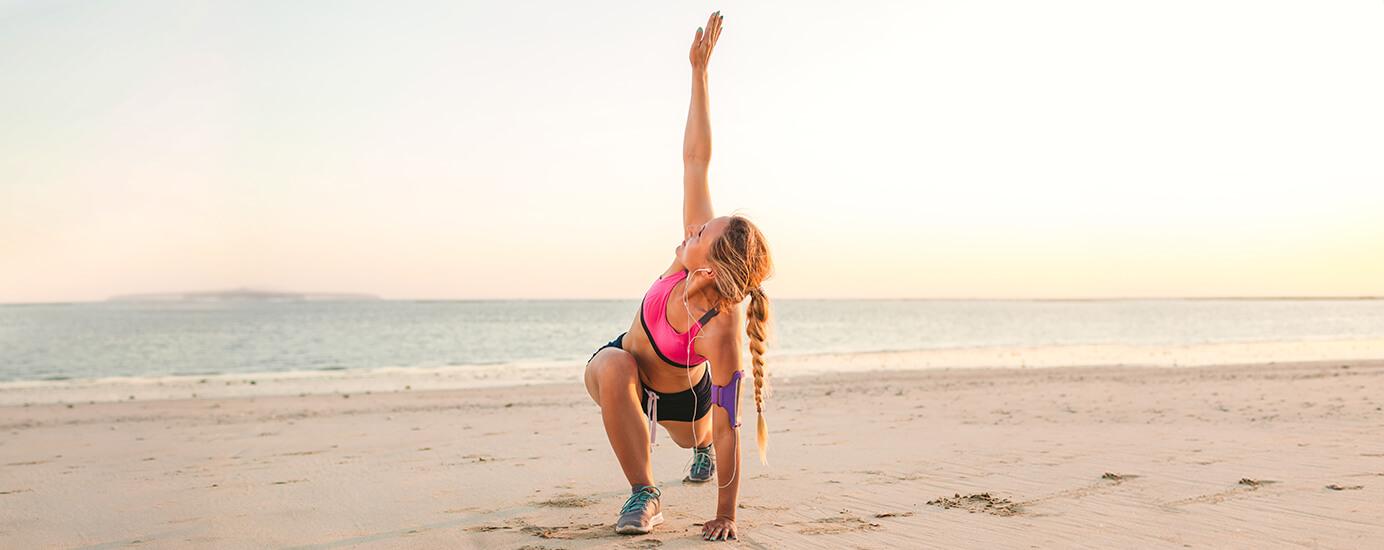 Fitness im Urlaub