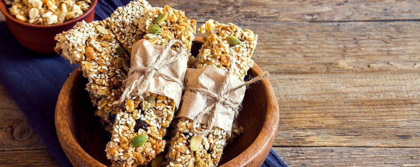 Leckere Fitness-Snacks zum Selbermachen