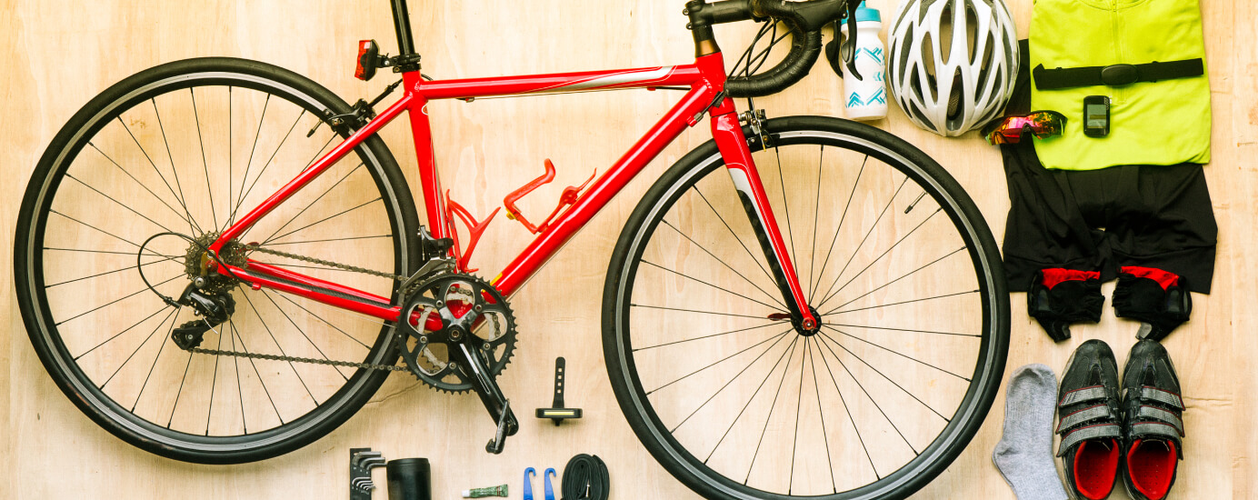 Material und Ausstattung beim Rennrad