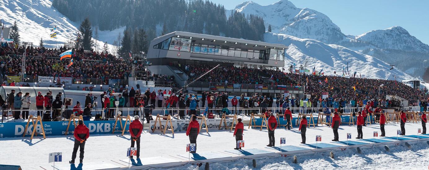 Hinter den Kulissen des Biathlon-Weltcups mit Andreas Stitzl