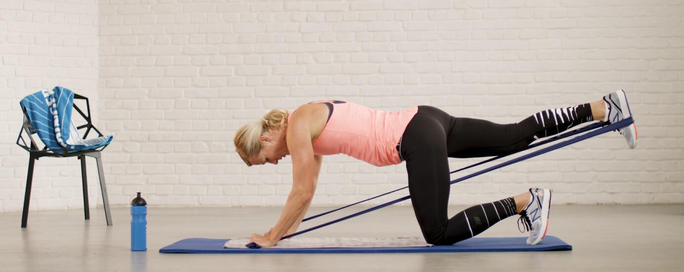 Wie du mit Fitnessband-Übungen deinen Trainingseffekt steigerst