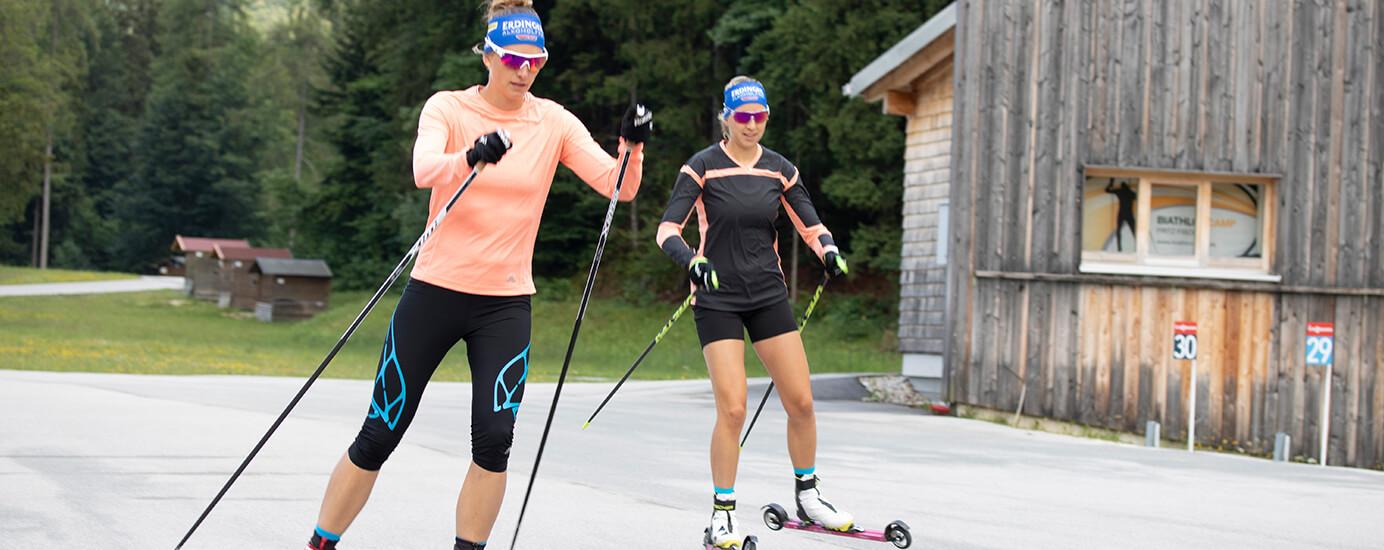 Ausdauer, Präzision, Kraft: So trainieren unsere Biathleten im Sommer