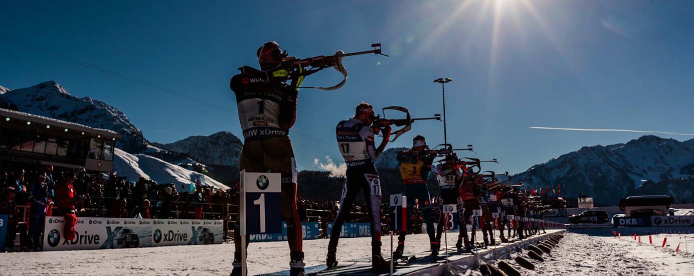 Biathlon: Schießen gegen Zeit, Wind und Puls