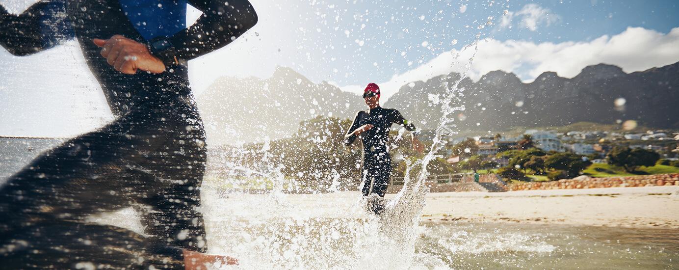 Gegen den Strom – Freiwasserschwimmen