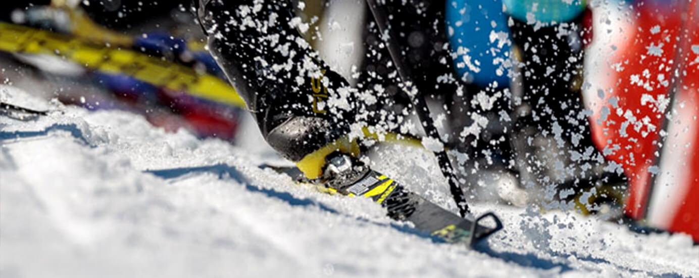 Skating-Ski und Ski-Tuning