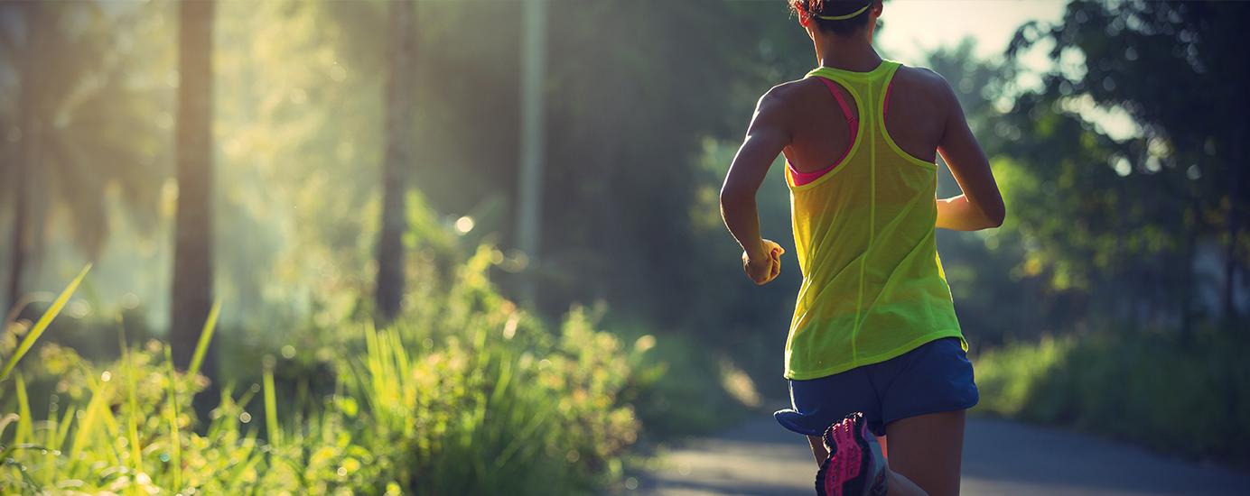 Richtig laufen: Körperhaltung, Bewegungsapparat, Gelenke