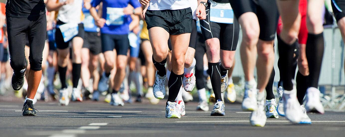 Marathon durchhalten