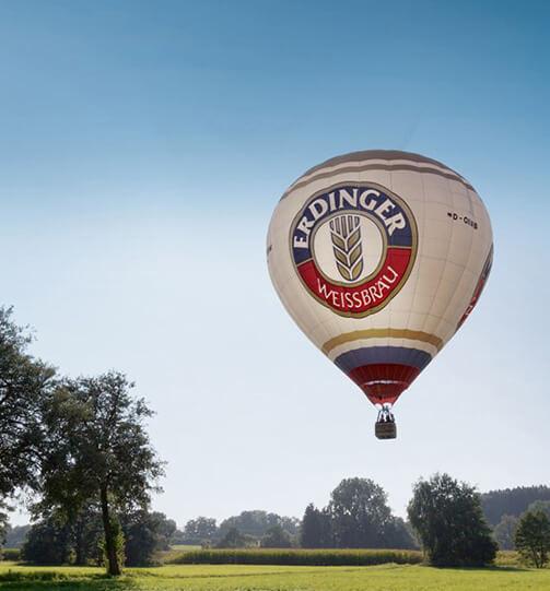 Heißluftballonfahrt - <br>Abheben ist Wochenende